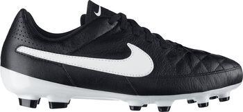 Nike Tiempo Genio Leather FG jr voetbalschoenen Zwart