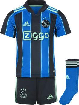 adidas Ajax kids uittenue 21/22 Jongens Blauw