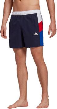 adidas Colorblock CLX Zwemshort Heren Wit