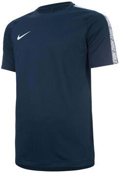 Nike Dry Squad Football shirt Heren Blauw