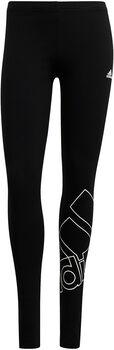adidas Essentials Logo Legging Dames Zwart