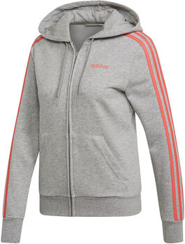 ADIDAS Essentials 3-Stripes hoodie Heren Grijs