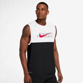 Nike Graphic hemd Heren Zwart
