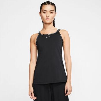 Nike Pro Elastika top Dames Zwart