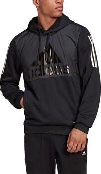 adidas AEROREADY hoodie Heren Zwart