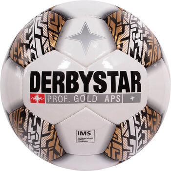Derbystar Prof Gold voetbal Wit