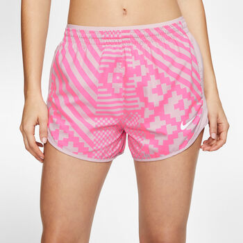 Nike Tempo Lux short Dames Rood