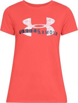 Under Armour Tech SSC Graphic shirt Dames Roze