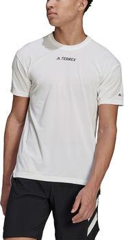 adidas Terrex Parley Agravic Trail Running All-Around T-shirt Heren Wit
