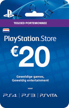 Puma Playstation card t.w.v. 20,- Neutraal
