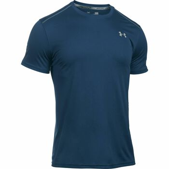 Under Armour Coolswitch Run shirt Heren Blauw