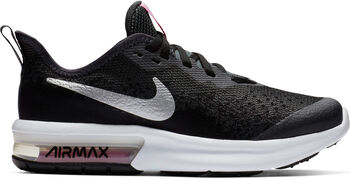 sale retailer 8888d 09905 Nike Air Max Sequent 4 sneakers Zwart