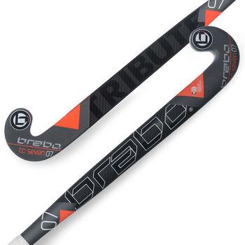 Brabo TC-7.24 (RF) LB hockeystick Heren Zwart
