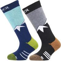 Ski sokken 2-pack