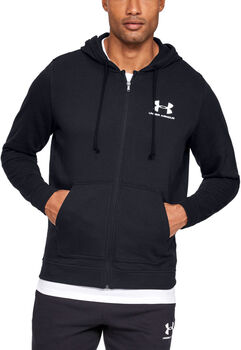 Under Armour Sportstyle Terry Full Zip vest Heren Zwart