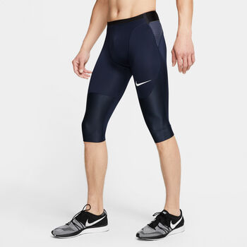 Nike Pro AeroAdapt short Heren Blauw