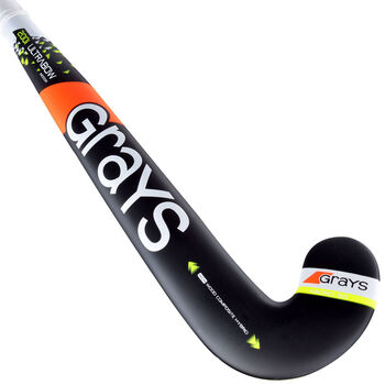 Grays 200i Ultrabow Indoor jr zaalhockeystick Jongens Zwart