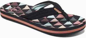 Reef Ahi Kids slippers Meisjes Zwart