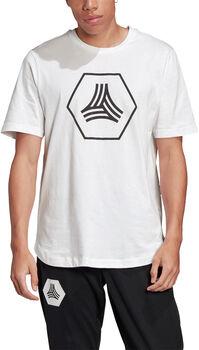 ADIDAS TAN Big Logo shirt Heren Wit