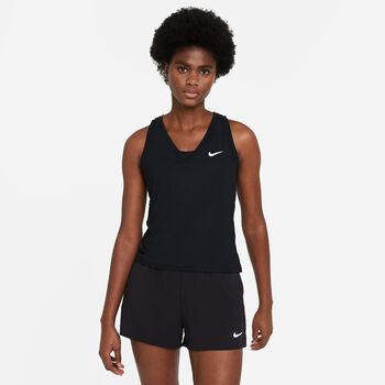 NikeCourt Victory top Dames Zwart