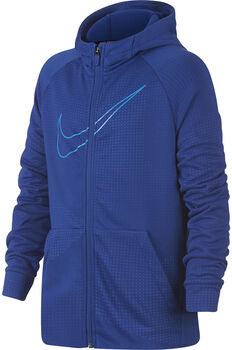 Nike Dry jr hoodie Jongens Blauw