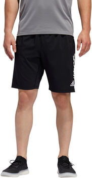 ADIDAS 4KRFT 3-Stripes 9-Inch short Heren Zwart