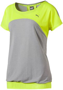 Puma Transition shirt Dames Geel