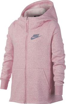 Nike Sportswear hoodie Meisjes Rood