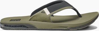 Reef Fanning Low slippers Heren Groen