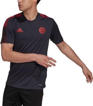 adidas FC Bayern München Tiro trainingsshirt 21/22 Heren Grijs