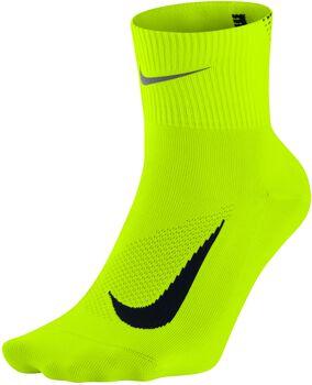 Nike Elite Lightweight 2.0 Quarter sokken Heren Geel