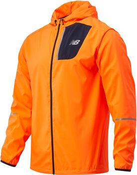 New Balance Core Run jack Heren Oranje