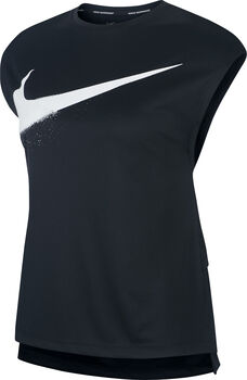 Nike Rebel GX shirt Dames Zwart