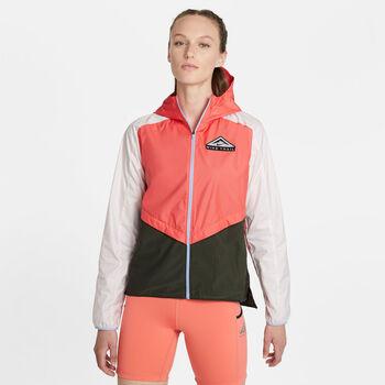Nike Shield hardloopjack Dames Oranje