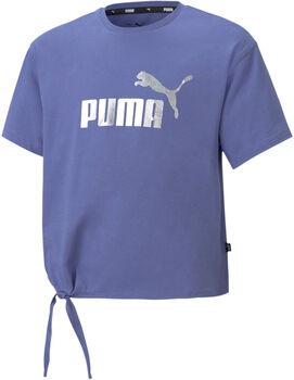 Puma Essential+ Logo Silhouette shirt Meisjes Blauw