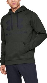 Under Armour Rival Fleece Sportstyle Logo sweater Heren Groen