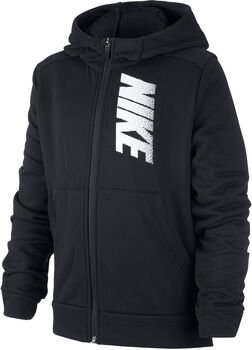 Nike Dri-FIT hoodie kids Jongens Zwart