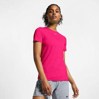 Nike Pro shirt Dames Roze
