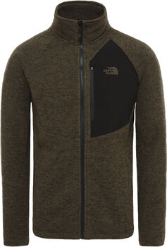 The North Face Arashi Overlay II fleece Heren Groen