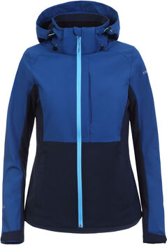 Icepeak Bethune Softshell jas Dames Blauw