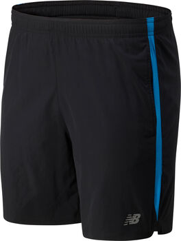 New Balance Accelerate 7'' short Heren Blauw