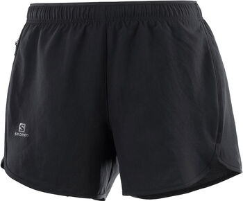 Salomon Agile short Dames Zwart