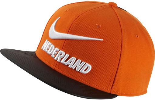 Nike - Pro Nederlands Elftal cap - Unisex - Petten, Hoeden en Mutsen - Oranje