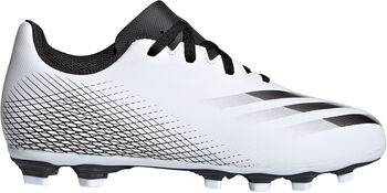 adidas X Ghosted.4 Flexible Ground Voetbalschoenen Wit