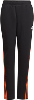 adidas 3-Stripes Doubleknit Tapered Leg Broek Zwart