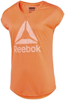Reebok Workout Supremium 2.0 shirt Dames Oranje
