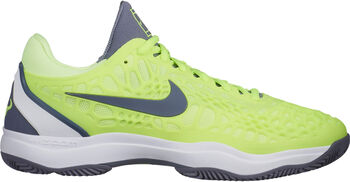 Nike Air Zoom Cage 3 Clay tennisschoenen Heren Geel