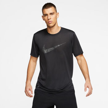 Nike Dri-FIT Legend Swoosh shirt Heren Zwart