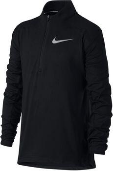 Nike Dry Running jr longsleeve Jongens Zwart