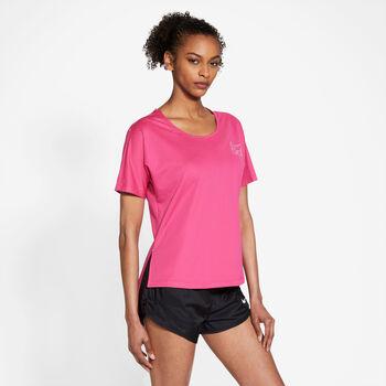 Nike City Sleek shirt Dames Rood